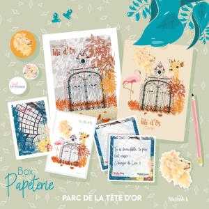 Box Papeterie «Parc de la Tête d'Or»